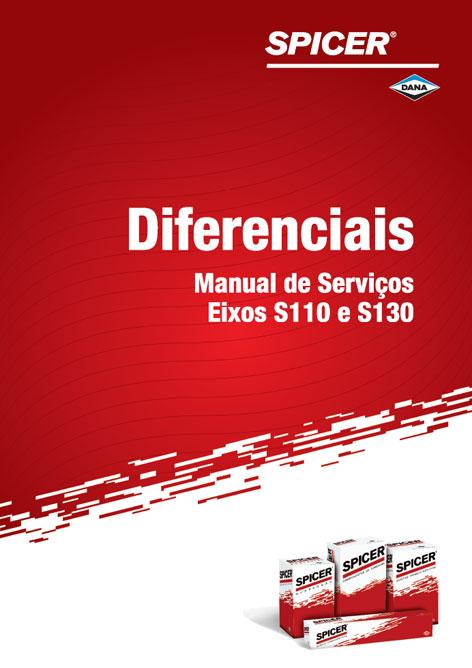 Manual de Serviço de Eixos Diferenciais Modelos S110 e S130